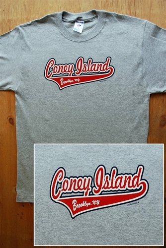 Coney Island T Shirt with Script