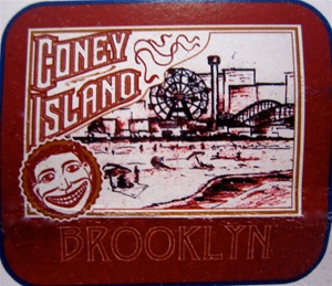 Coney Island Tillie face