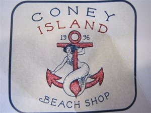 Coney Island Beach Shop Logo