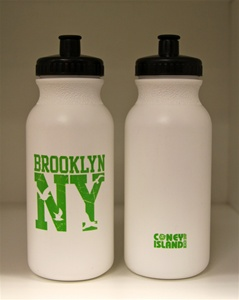 """BROOKLYN NY"" Squeeze Water Sports Bottles (20oz)"