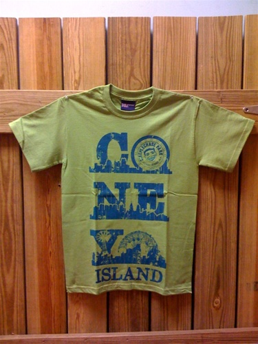 CONEY ISLAND T-Shirt (Citrus Green)