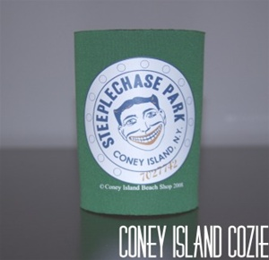 Coney island can Cozie with Tillie Face [GREEN]
