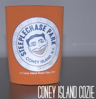 Coney island can Cozie with Tillie Face [ORANGE]