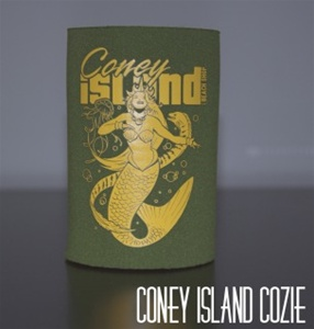 coney island can Cozie with Mermaid [GREEN]
