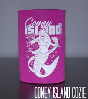 Coney island can Cozie with Mermaid [PINK]
