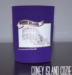 Coney island can Cozie with Cyclone [PURPLE]