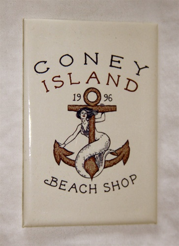 coney island Magnet with CIBS Logo [Sand]