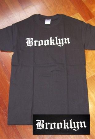 Coney island mens t shirt with oe brooklyn print for T shirt printing brooklyn