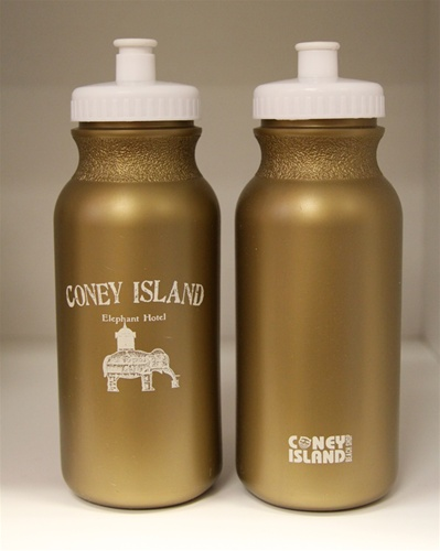 """ELEPHANT HOTEL"" Squeeze Water Sports Bottles (20oz)"