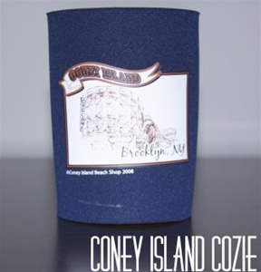 coney island can Cozie with CYCLONE [NAVY]